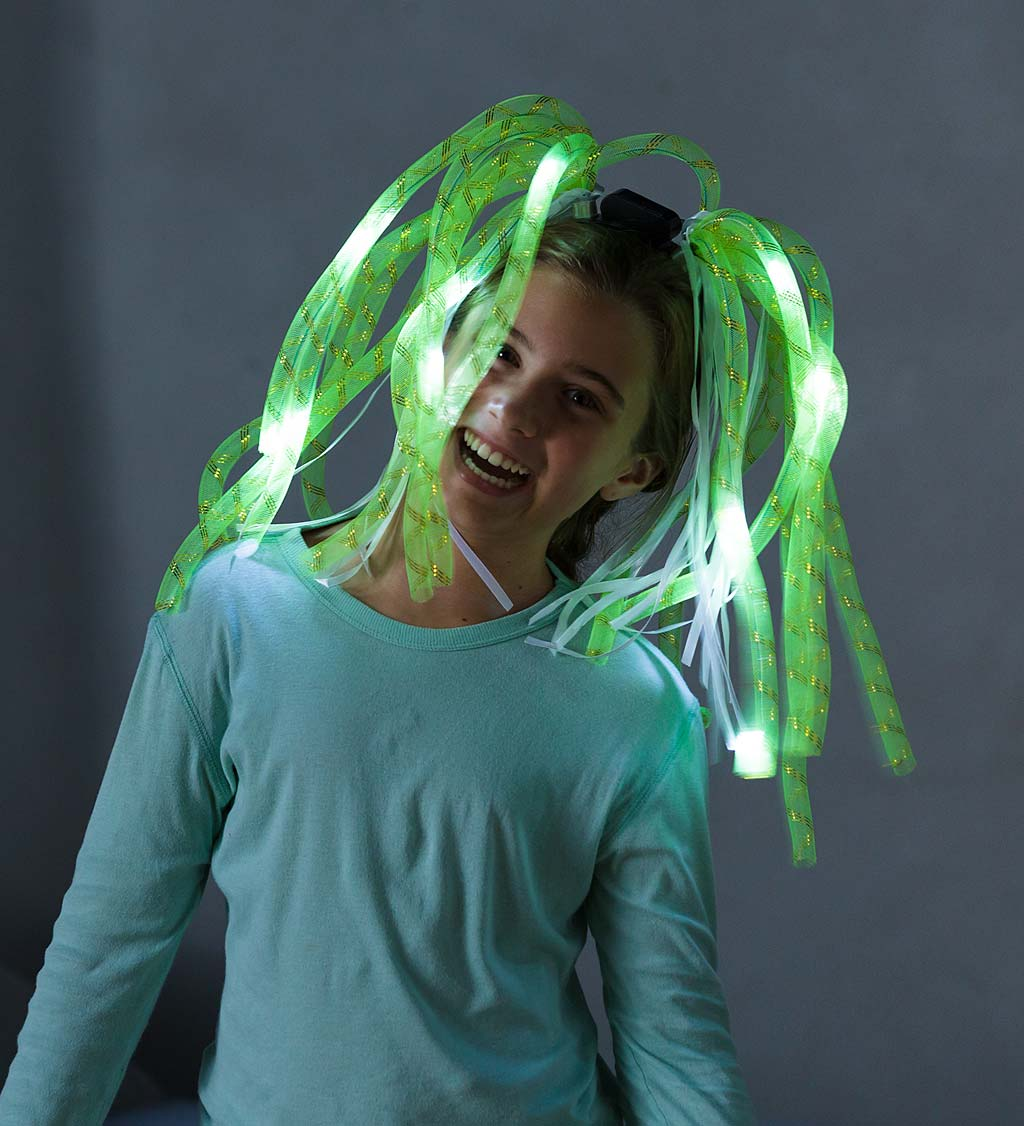 LIght-Up Noodle-Head Headbands