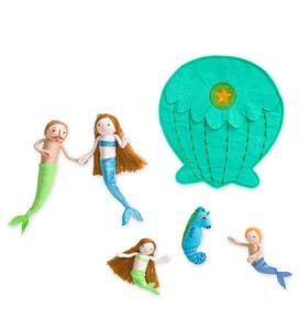 Mer-Family Playful Pack-up Penny Dolls