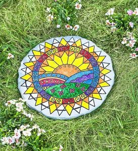 Color Pops® Color-Your-Own Garden Stone
