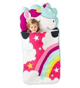Unicorn Sleeping Bag with Carrying Case