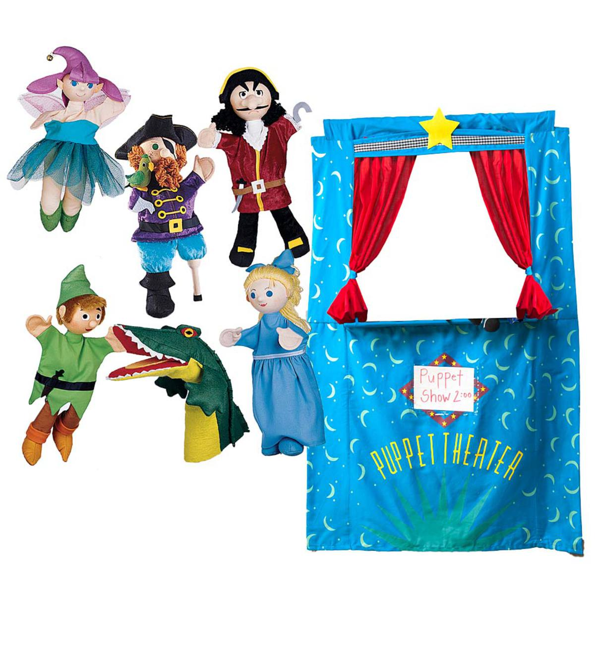 Six Puppets plus Doorway Theater Special - Peter Pan