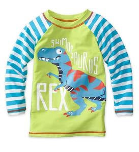 Long Sleeve Dino Rash Guard