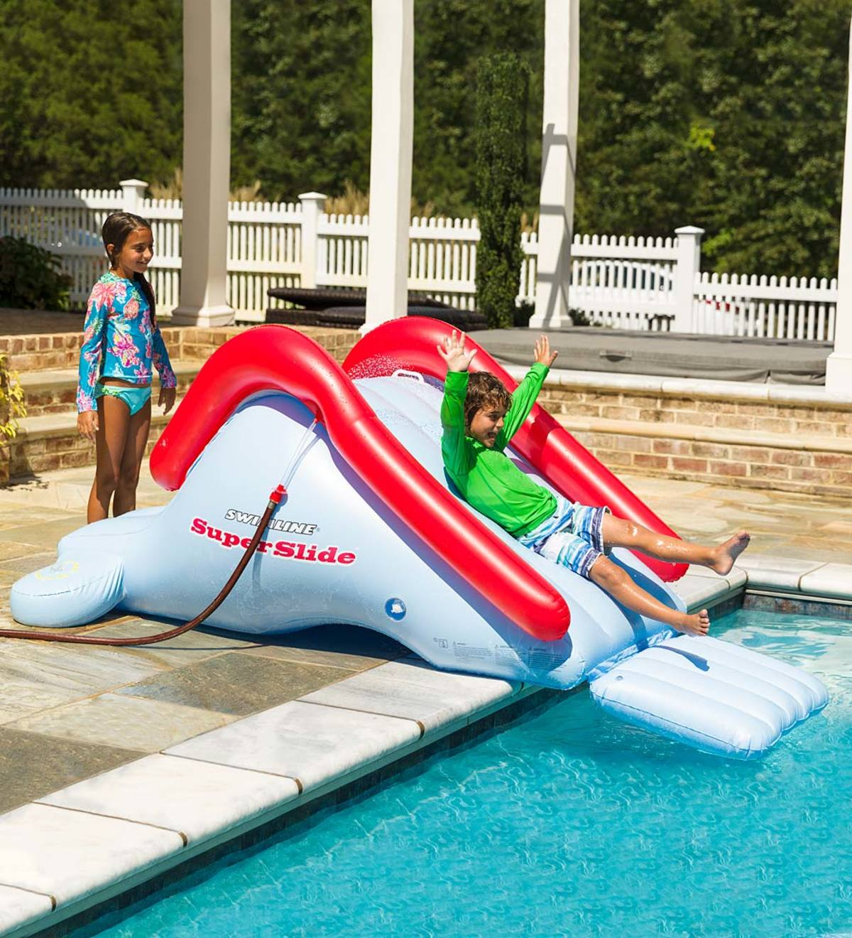 Inflatable Super Backyard Water Slide   12+   Ages ...