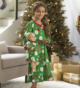 Santa Pajamas - Green - 3