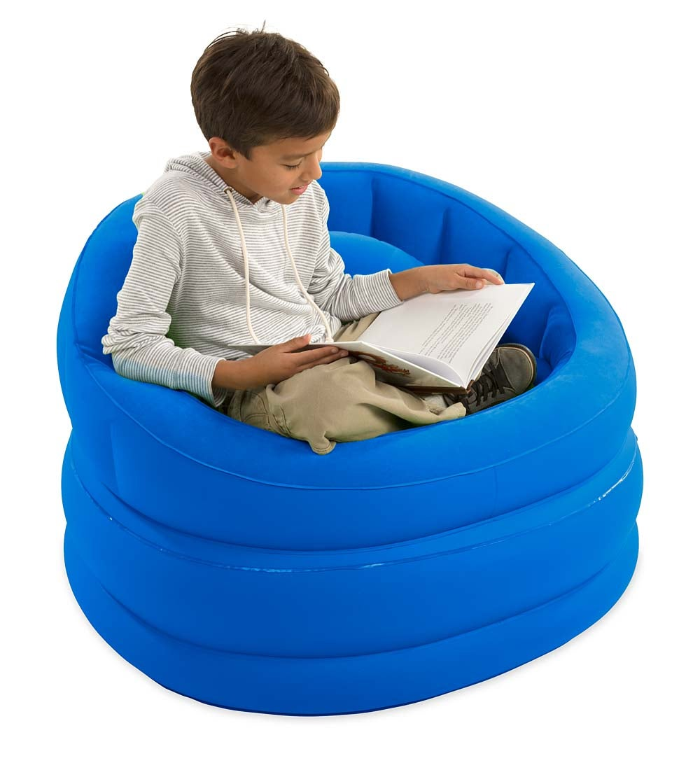 Best Plush Inflatable Cafe Chair