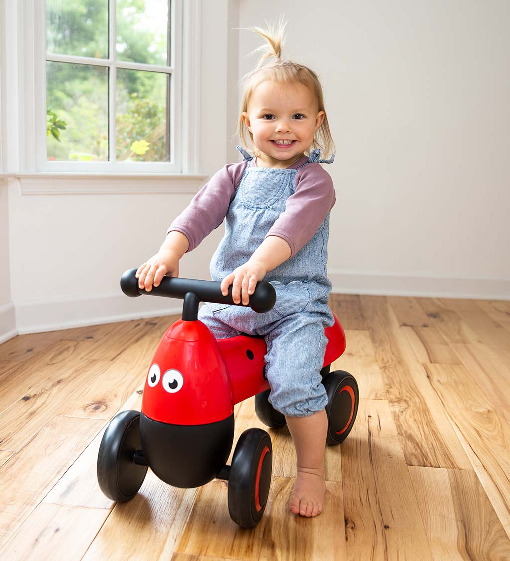 One2go Foot To Floor Ladybug Scooter